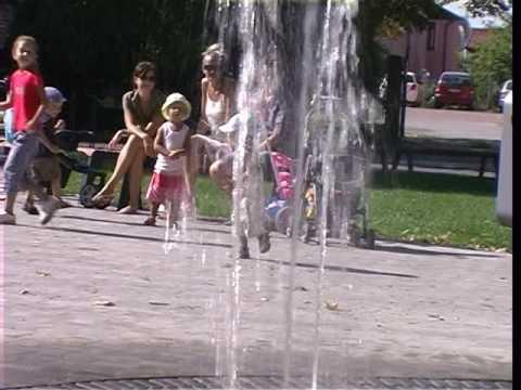 Chodníková fontána Nováky