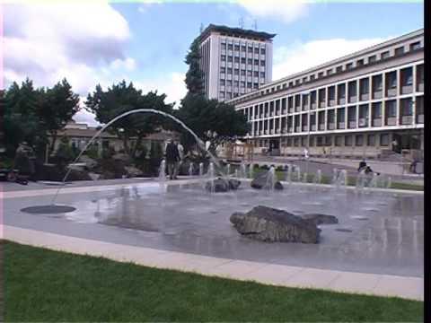 Chodníková fontána Žiar nad Hronom