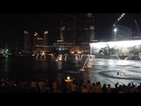 Fontána Mall of Emirates1