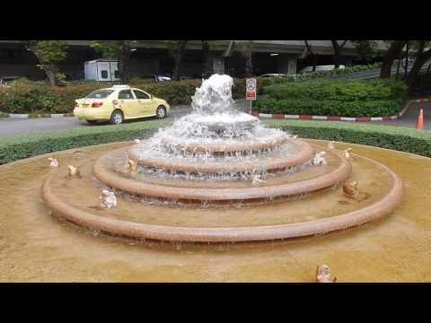 Fontána Nai Lert Park detail Bangkok